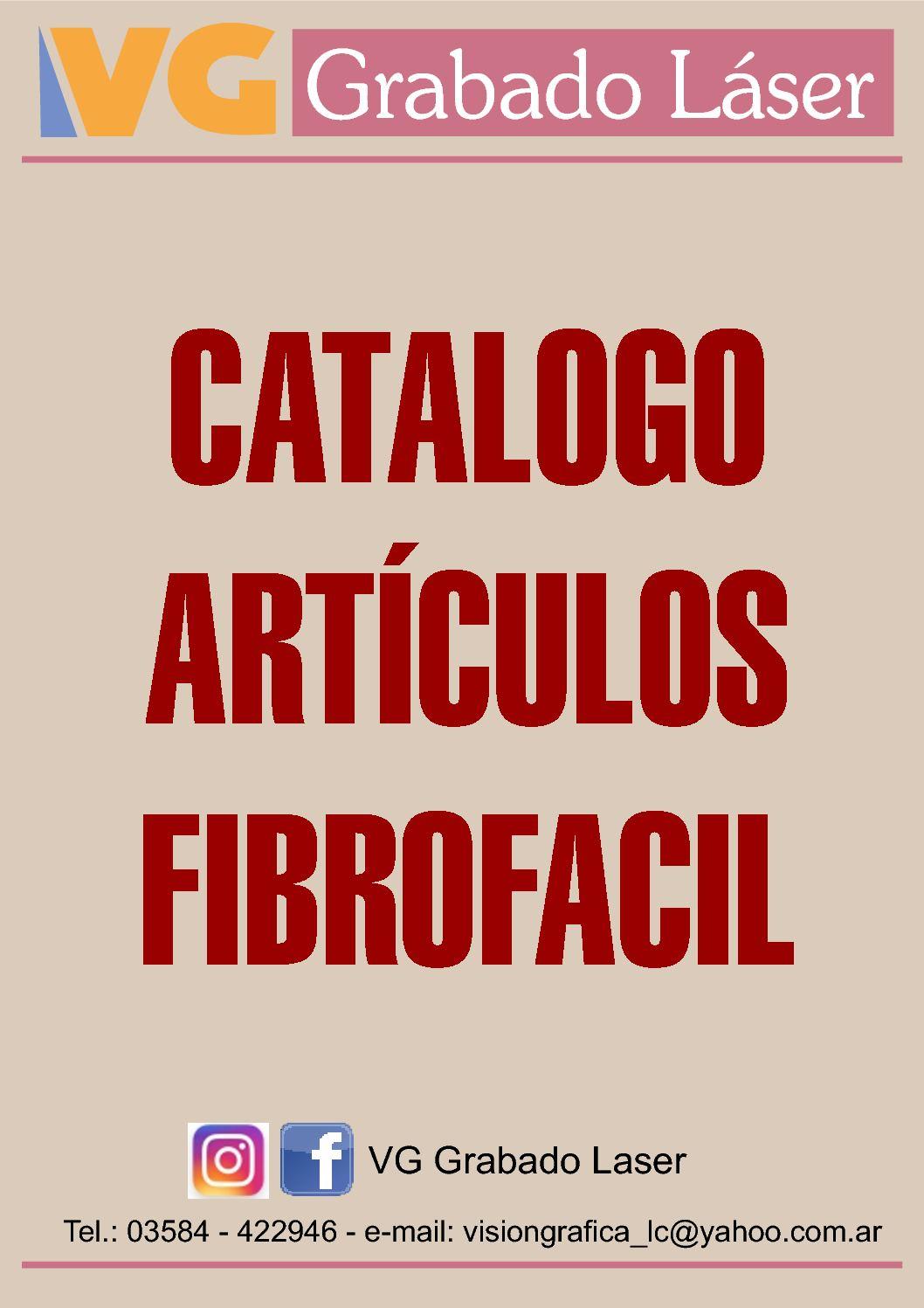 Catalogo 2017 Articulos Mdf Fibrofacil