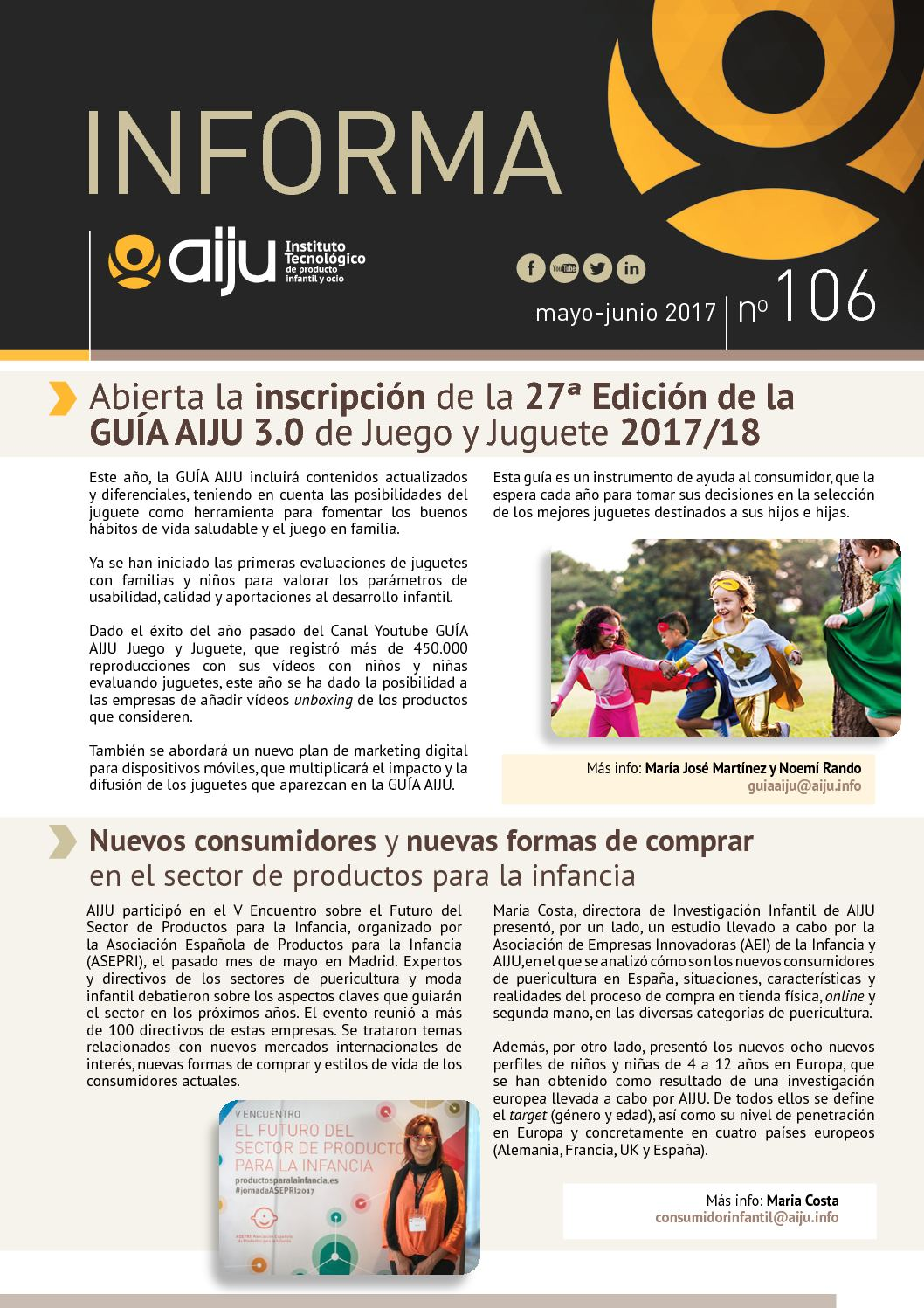 Calaméo - Boletín informativo de Aiju
