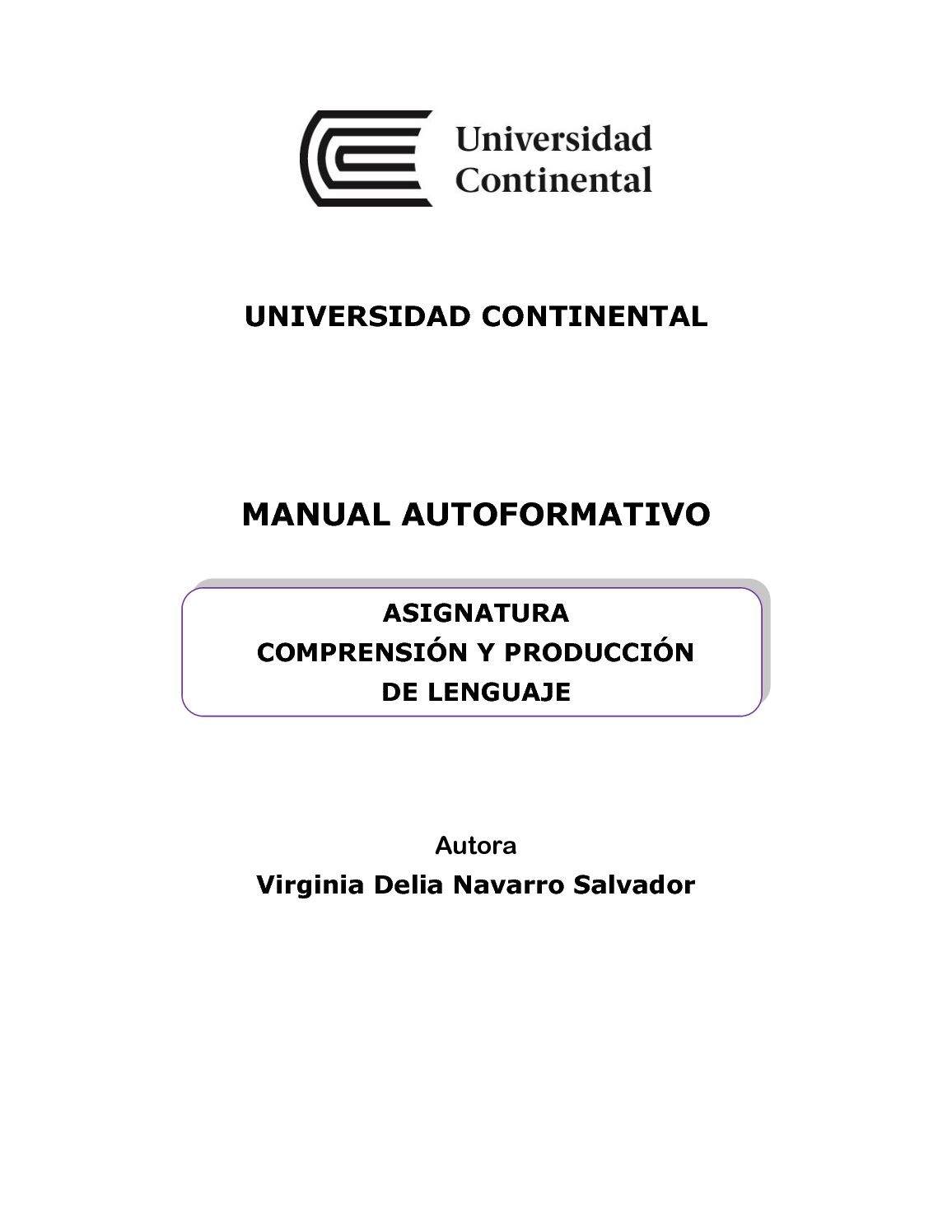 Calaméo - Uc0110 Mai Comprension Y Produccion Del Lenguaje Ed1 V1 2016