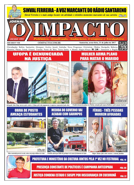 Calaméo - Jornal O Impacto Ed. 1155 d04a4a6d28234