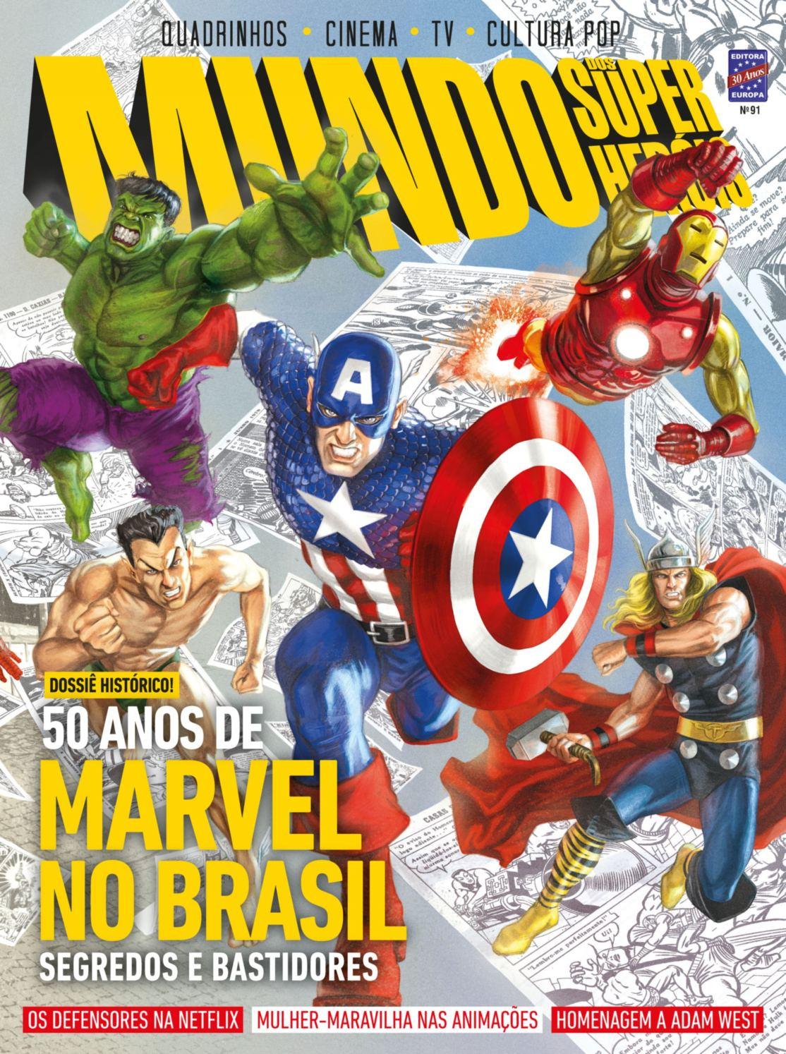 Revista Mundo dos Super Heróis │Edição 91 │Julho 2017