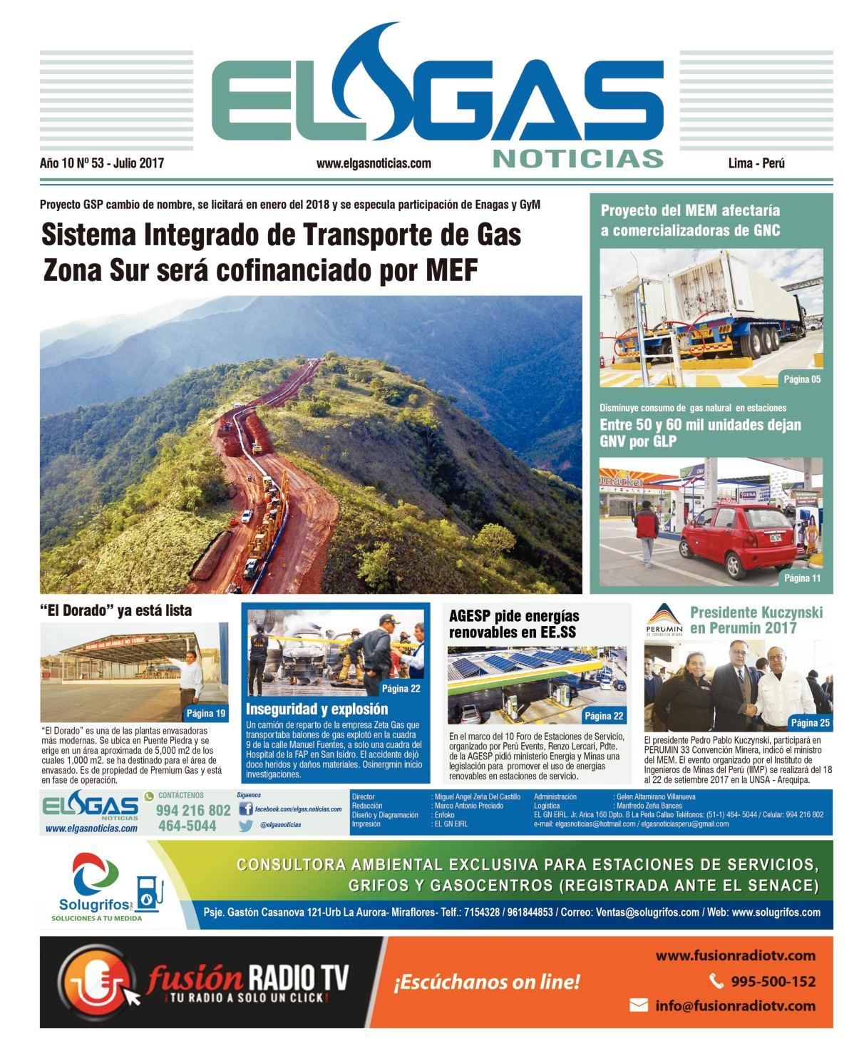 El Gas Noticias N° 53