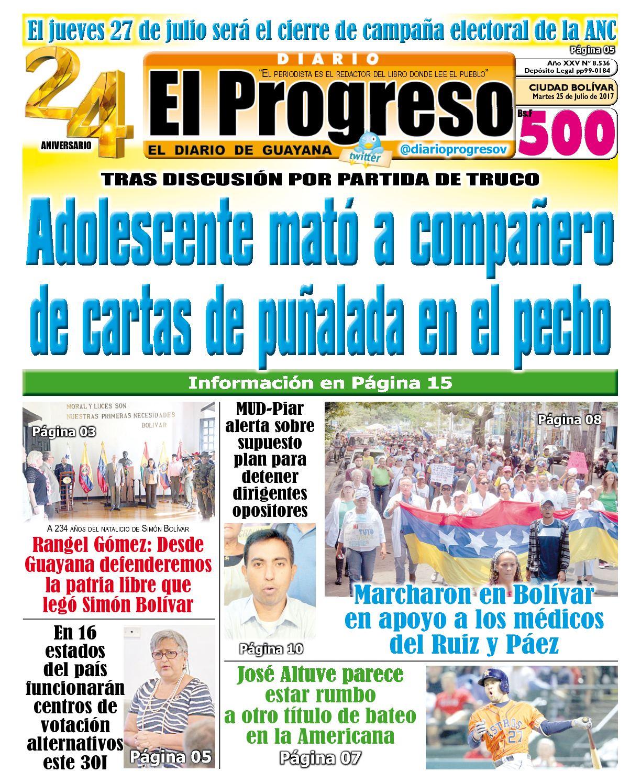 Diarioelprogreso2017 07 25