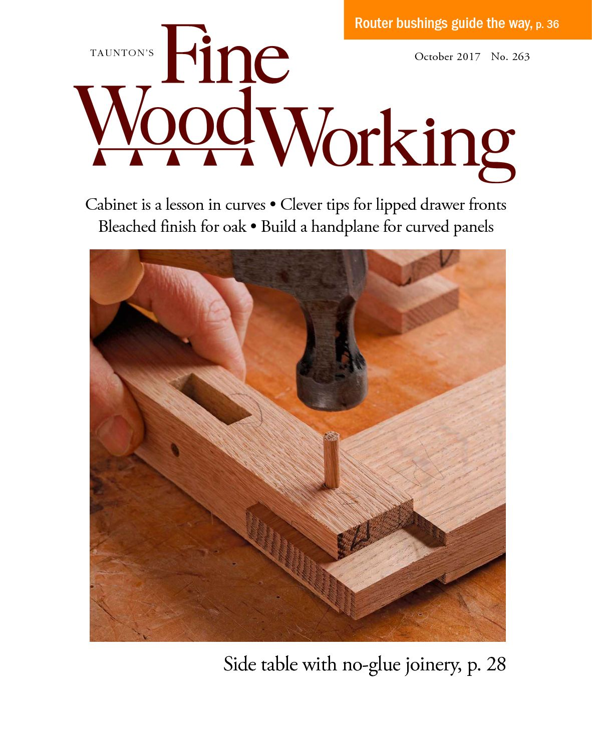 Fine Woodworking #263 Preview