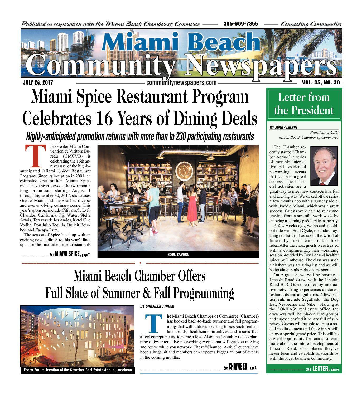 Calaméo Miami Beach News 07 24 2017