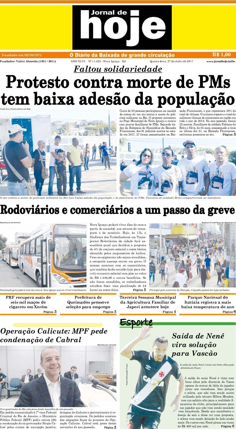 Jornal De Hoje 270717