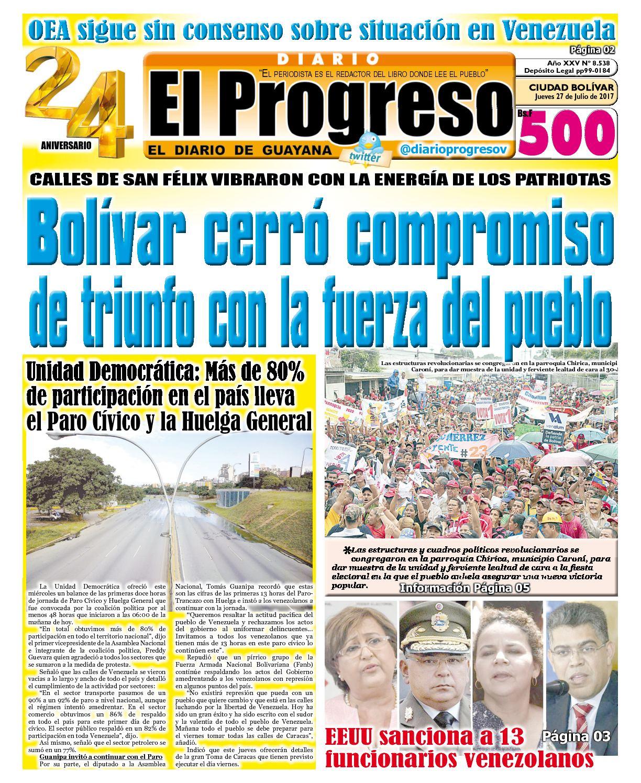 Diarioelprogreso2017 07 27