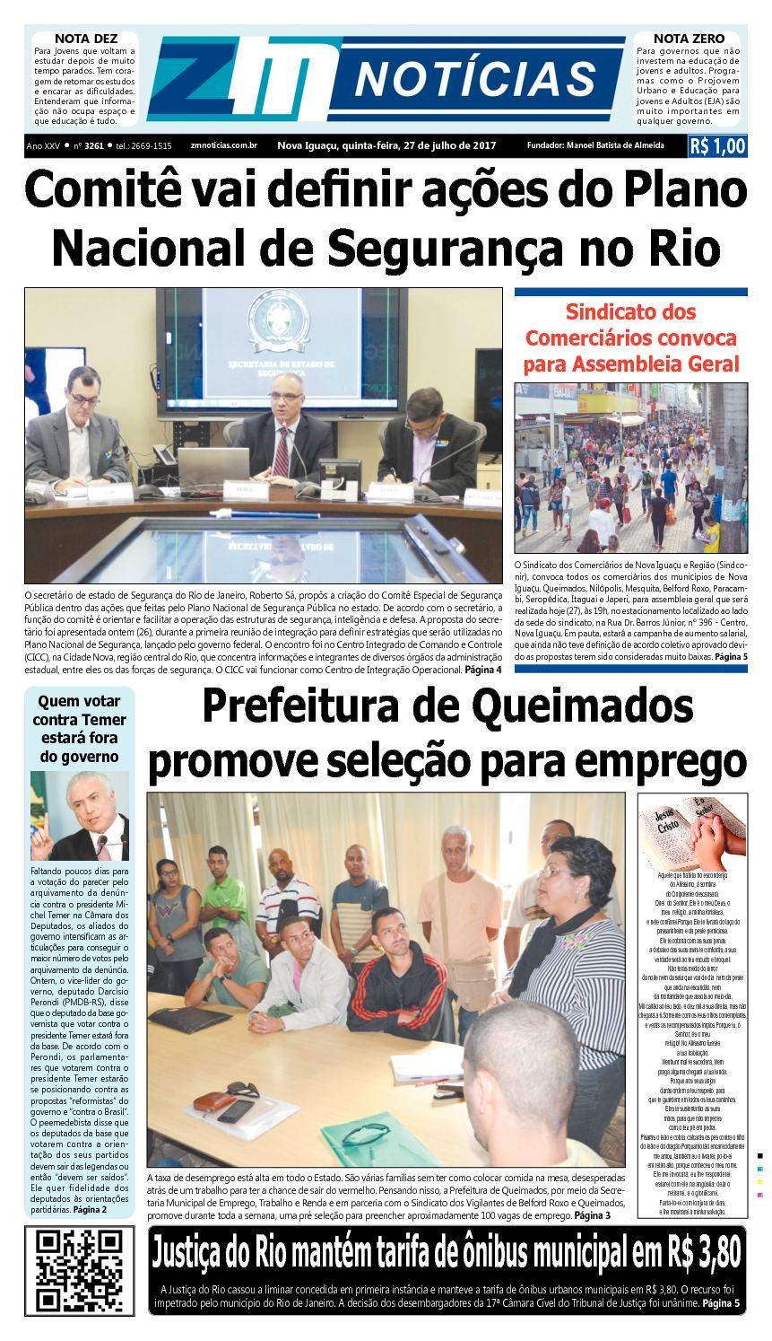 ZM Noticias - Edição 270717