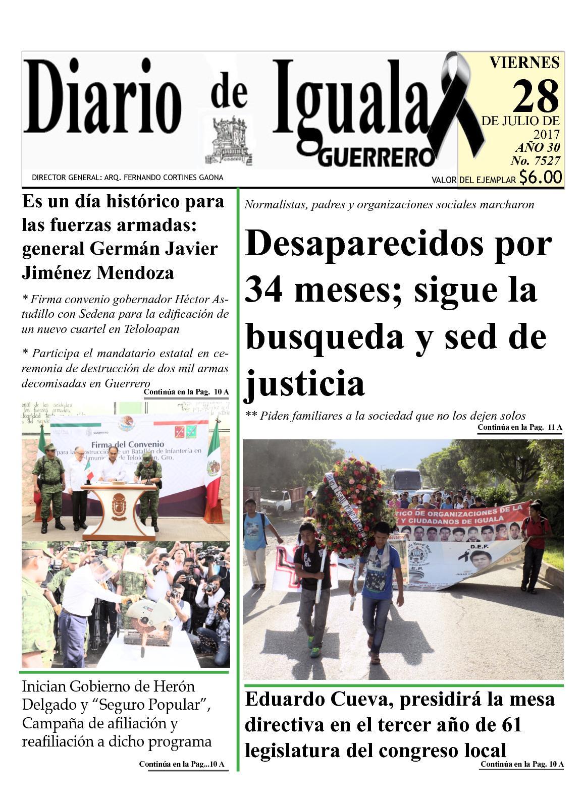 Diario De Iguala Viernes 28 De Julio De 2017