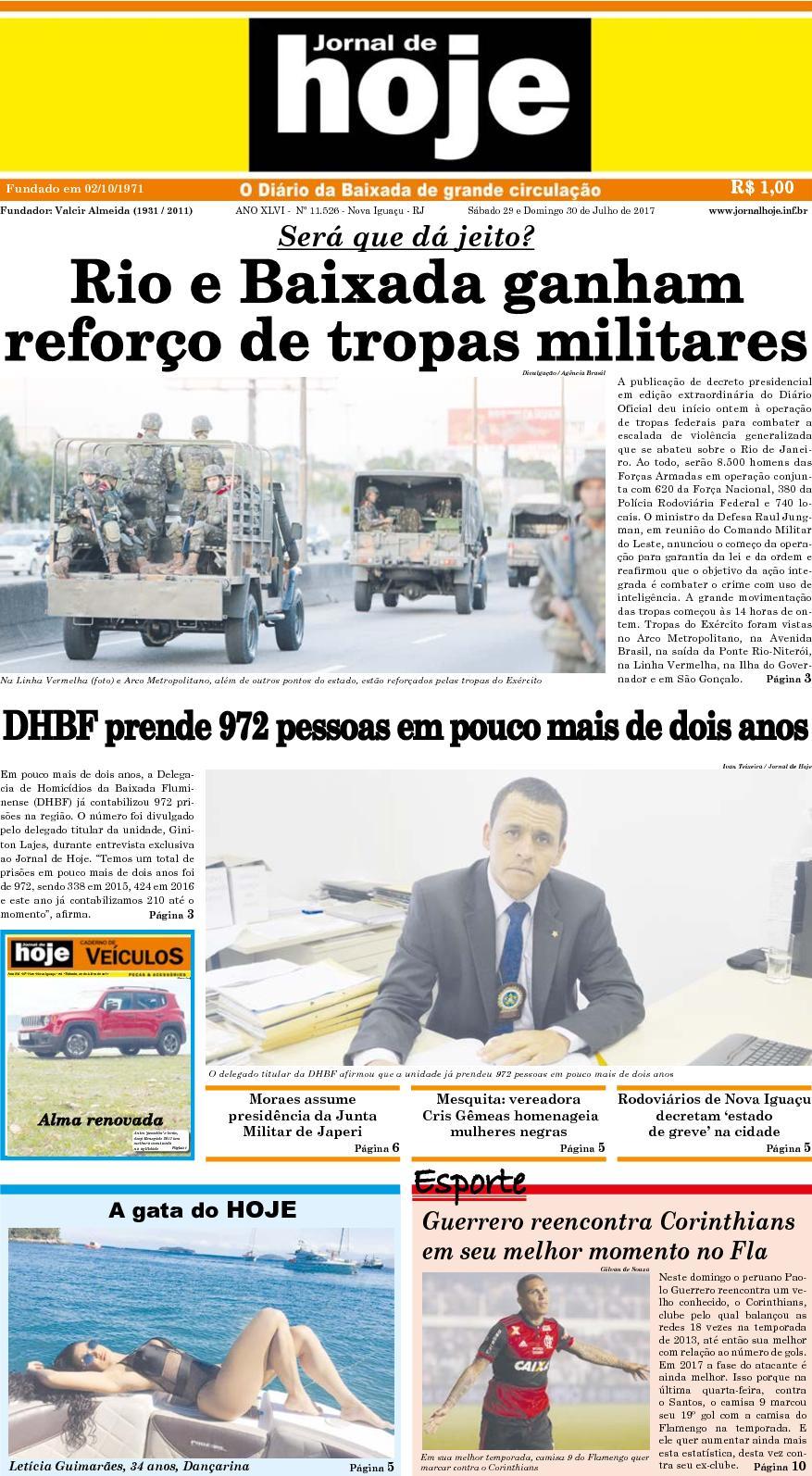 Jornal De Hoje 290717