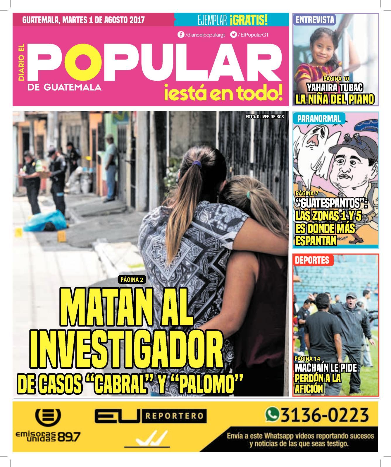 EL POPULAR GUATEMALA 01082017