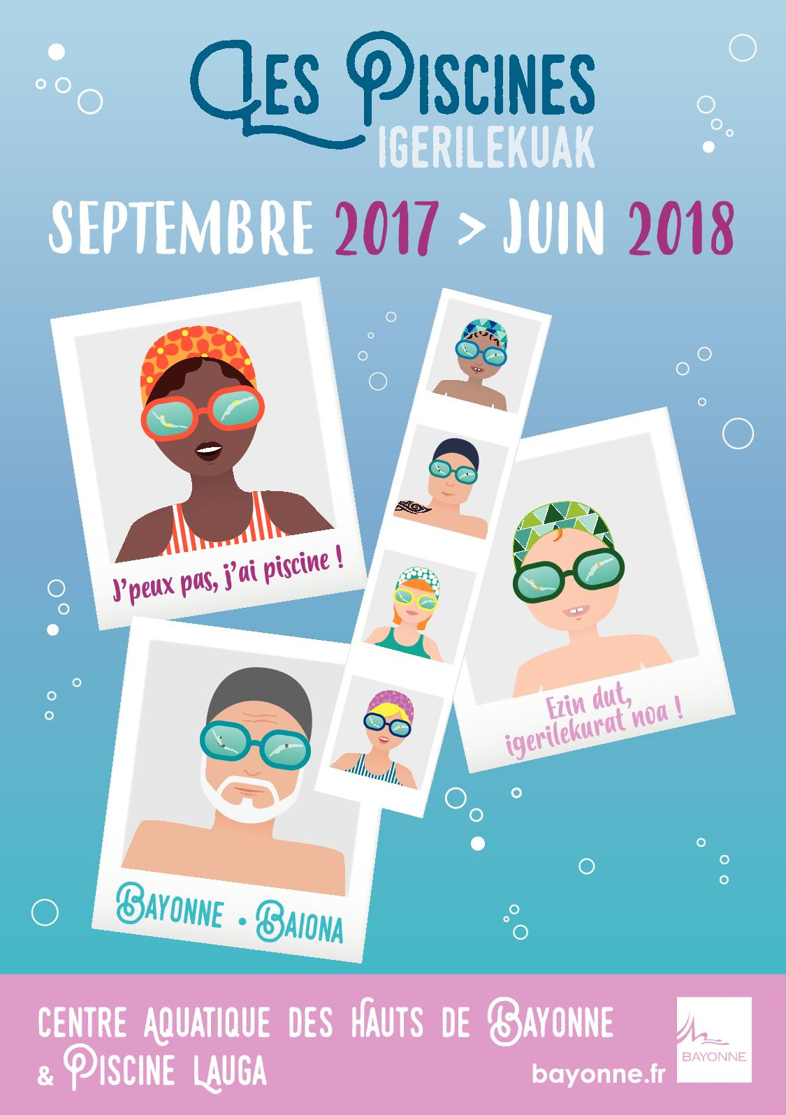 Calam o piscines de bayonne 2017 2018 - Horaire piscine bayonne ...
