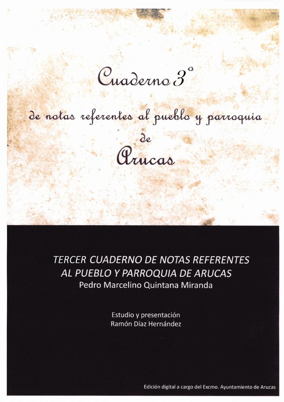 Calam O Cuaderno De Noticias Referentes Al Pueblo Y Parroquia De  # Muebles Naranjo Ingenio