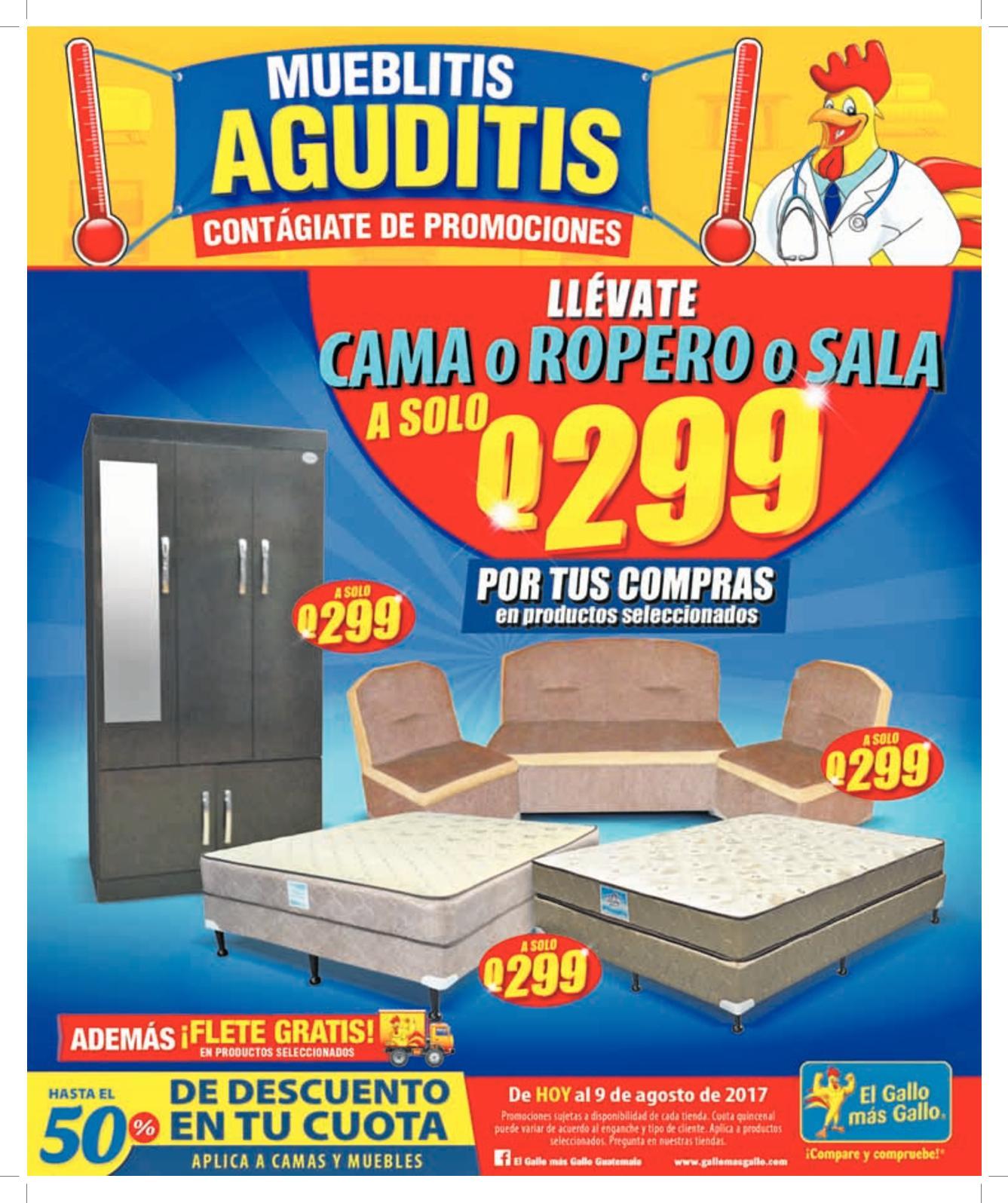 El Popular Guatemala 03082017 Calameo Downloader # Muebles Fiesta Metronorte