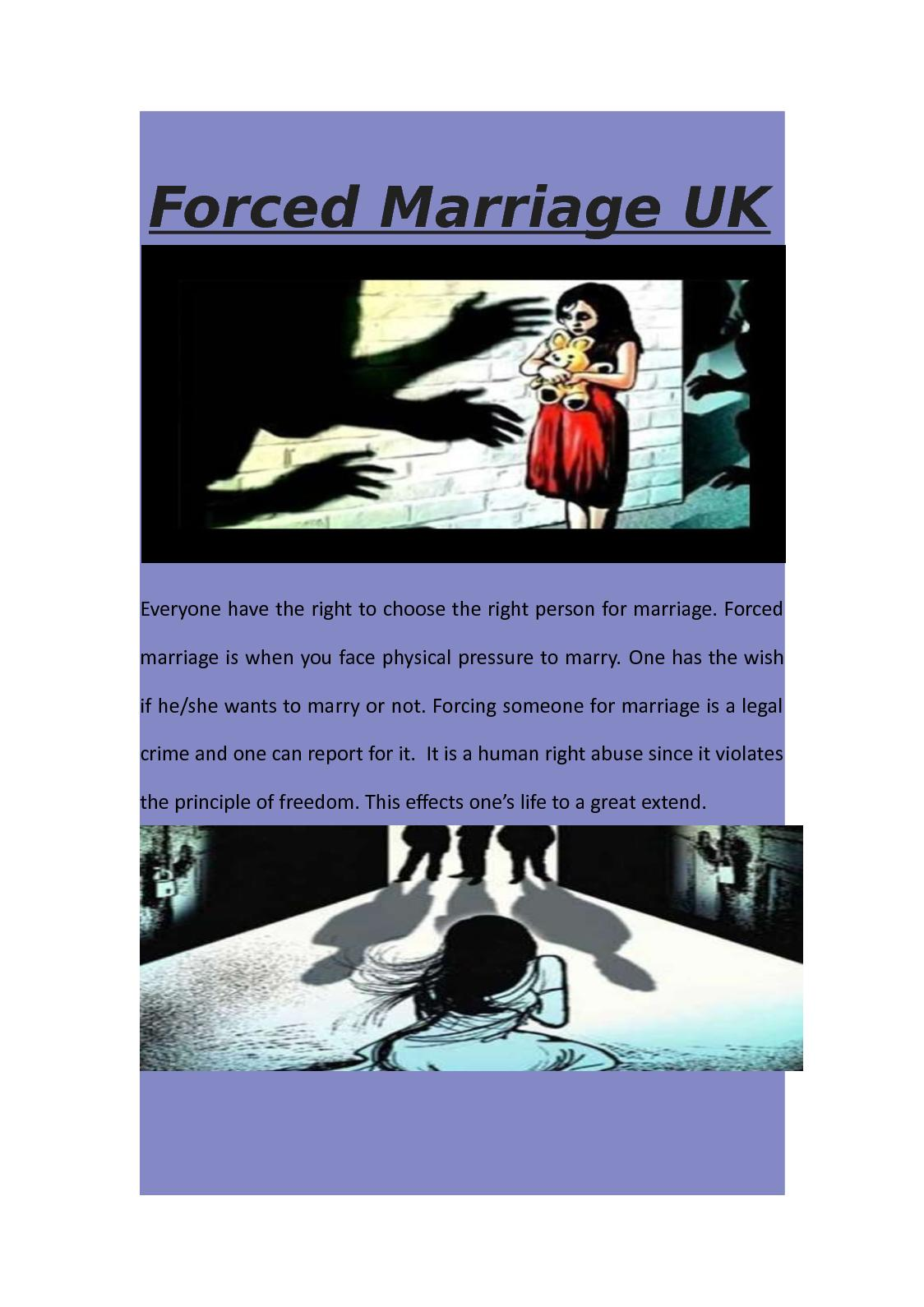 arranged marriage a violation of human salim el-mehdi salim miss rufenacht english 12 4 june 2012 arranged marriage according to a violation of human arranged marriages are still.