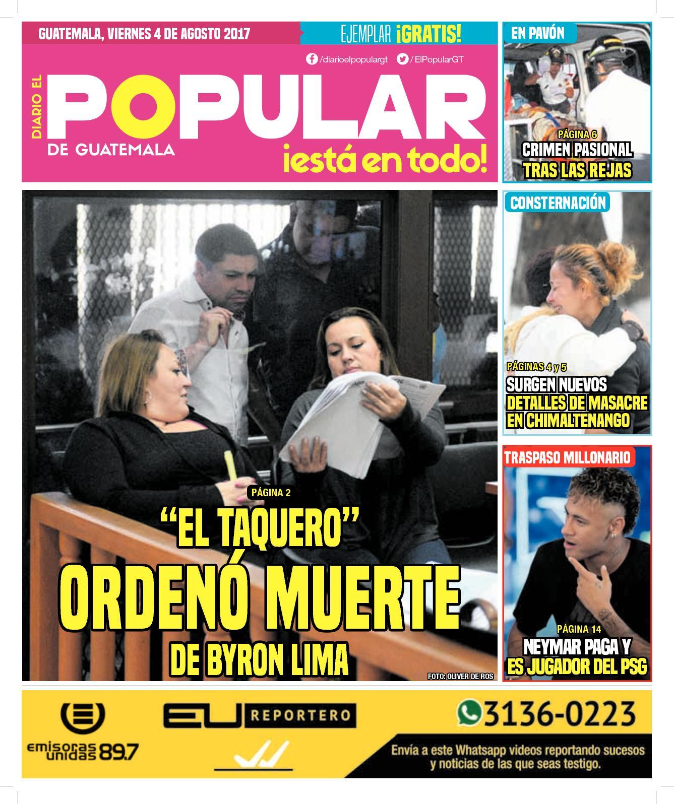 EL POPULAR GUATEMALA 04082017