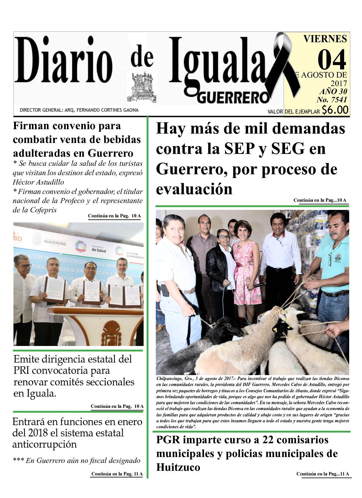 Diario De Iguala Viernes 4 De Agosto De 2015