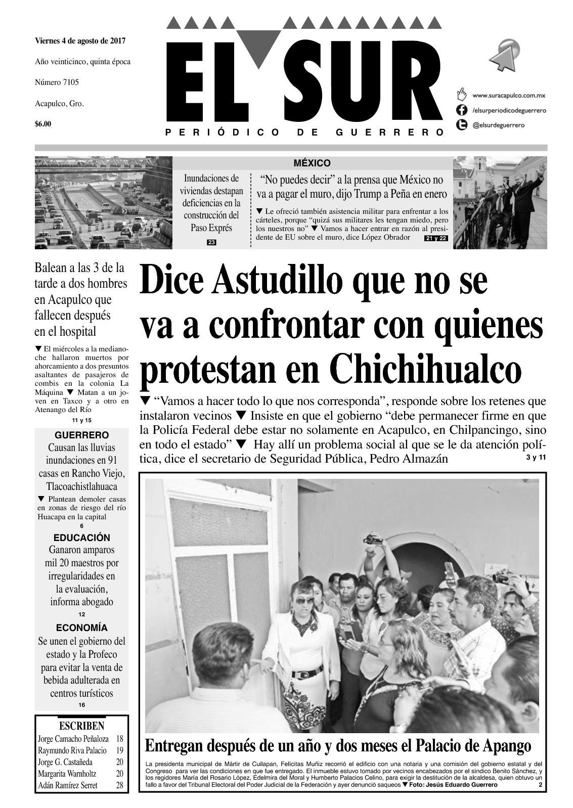 El Sur Viernes 0402017