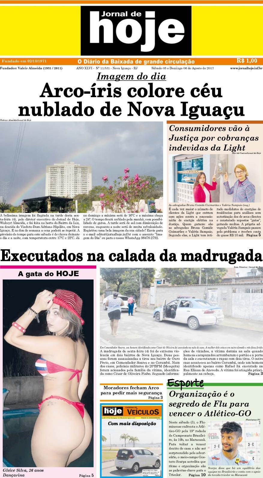 Jornal De Hoje 050817