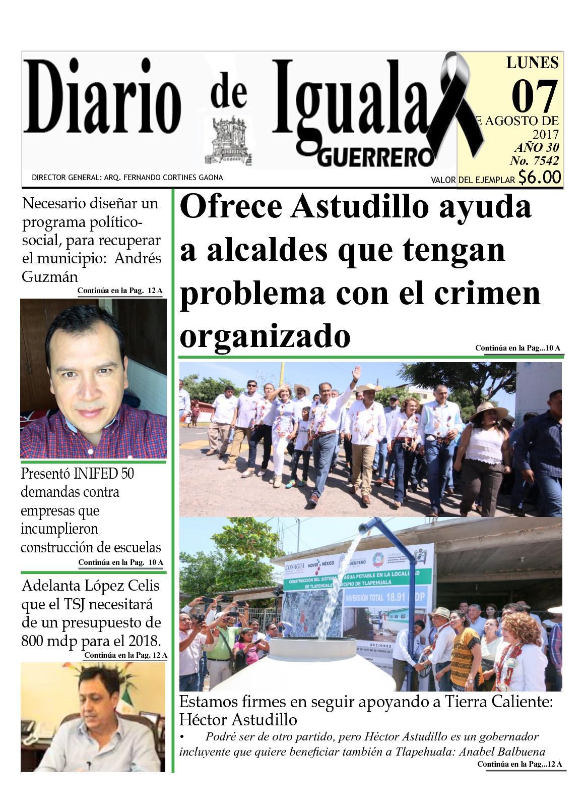 Diario De Iguala Lunes 7 De Agosto De 2015