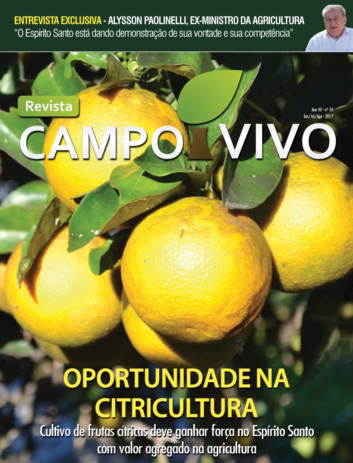 Revista Campo Vivo - Edição 34