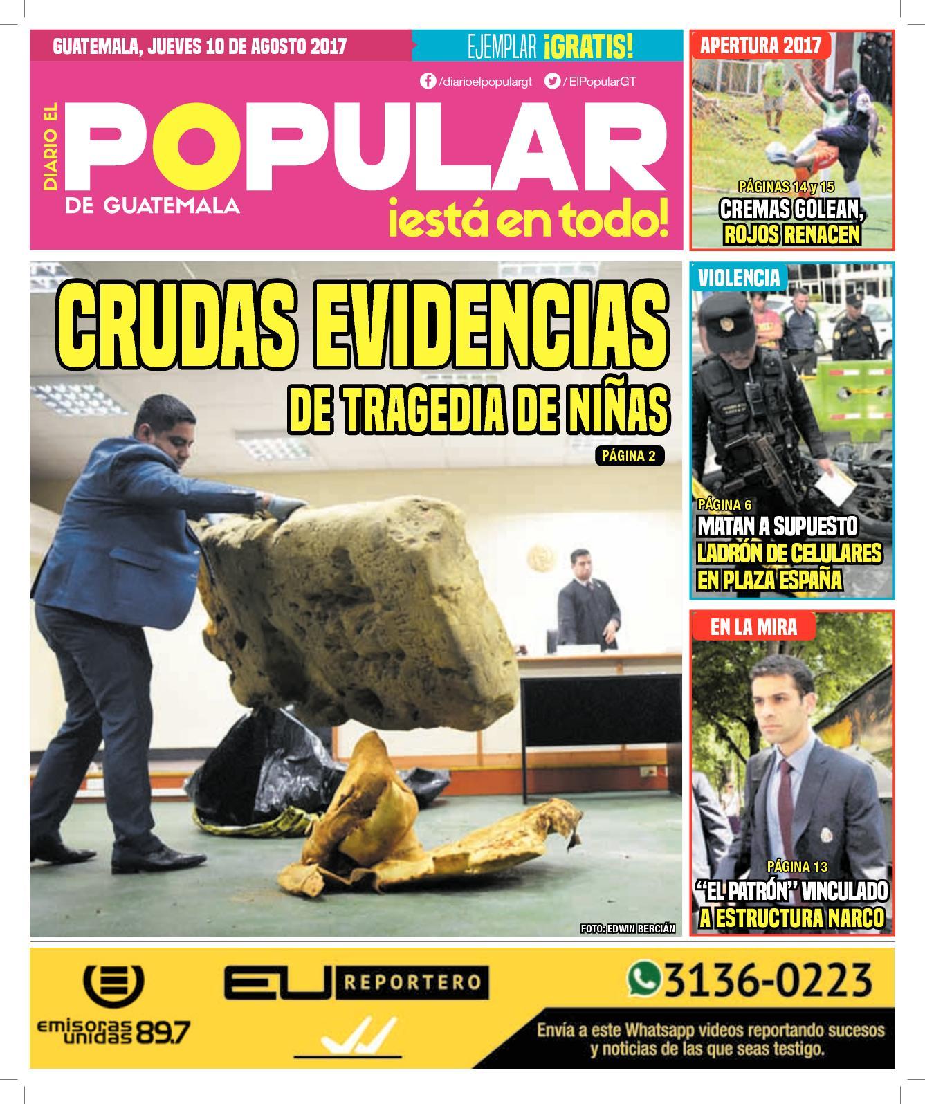EL POPULAR GUATEMALA 10082017