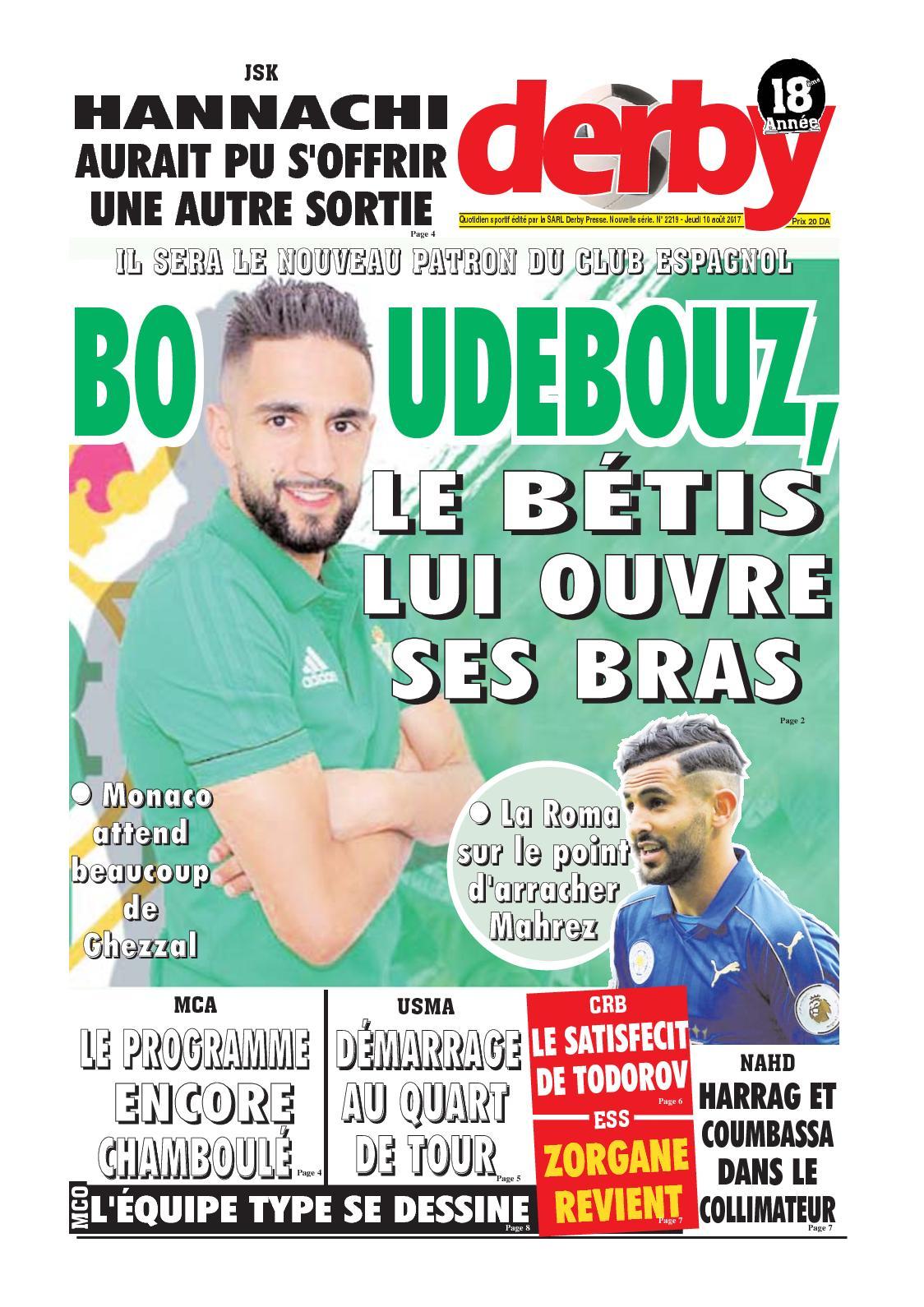 derby du 10.08.2017