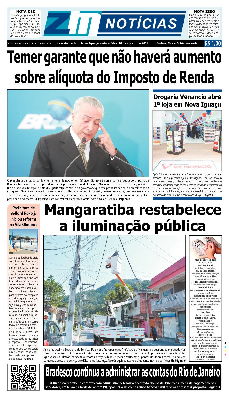 ZM Noticias - Edição 100817
