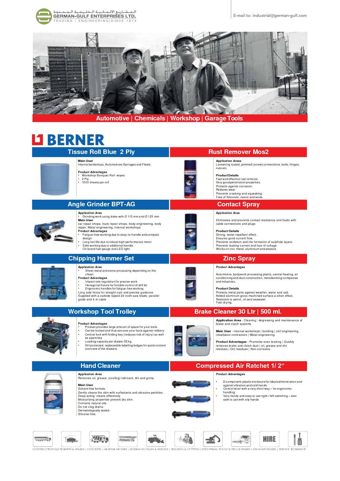 Calamo Berner Garage Tools Uae Maintenance Fixture Circuit Board Repair