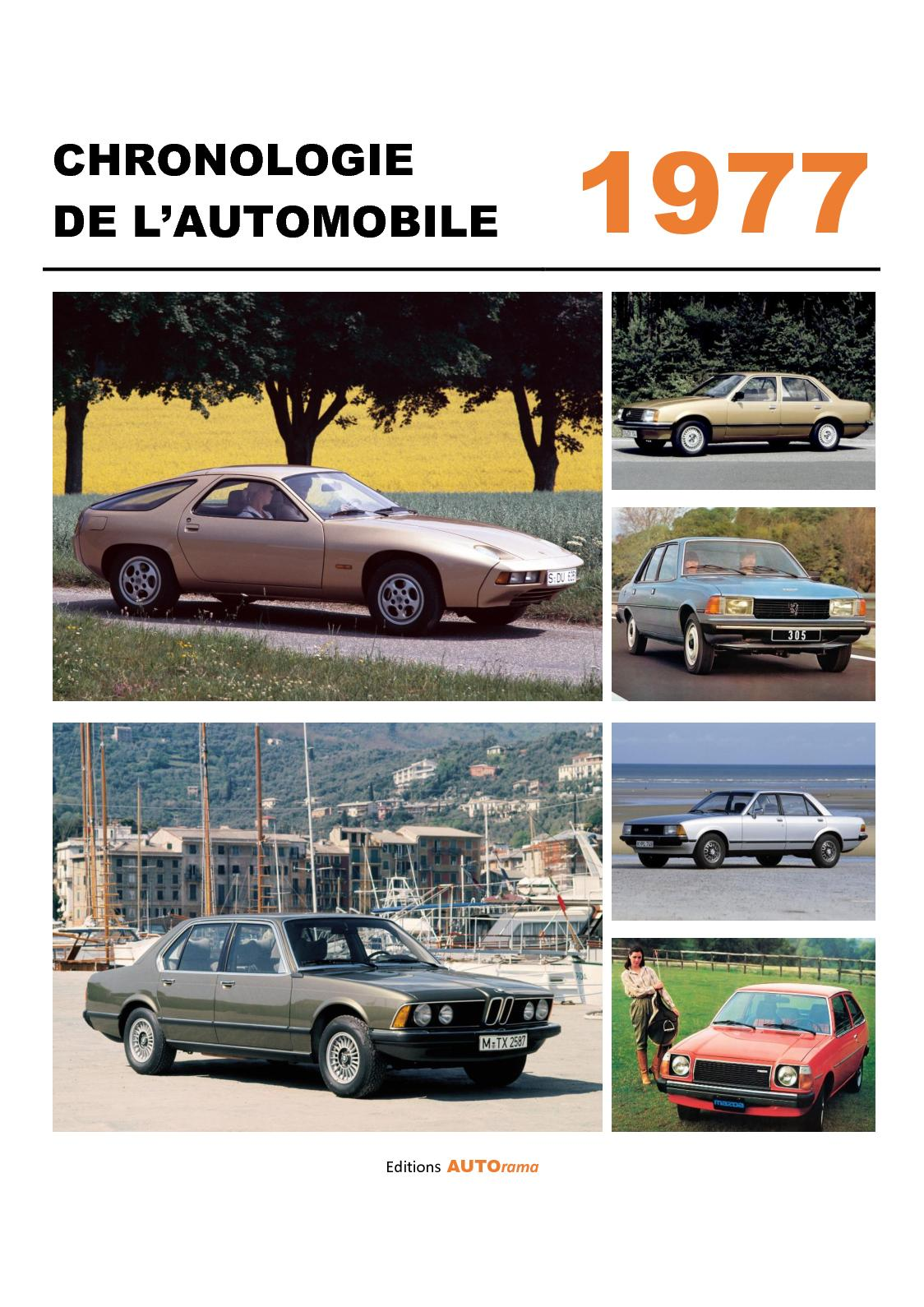 Chronologie de l'automobile - 1977