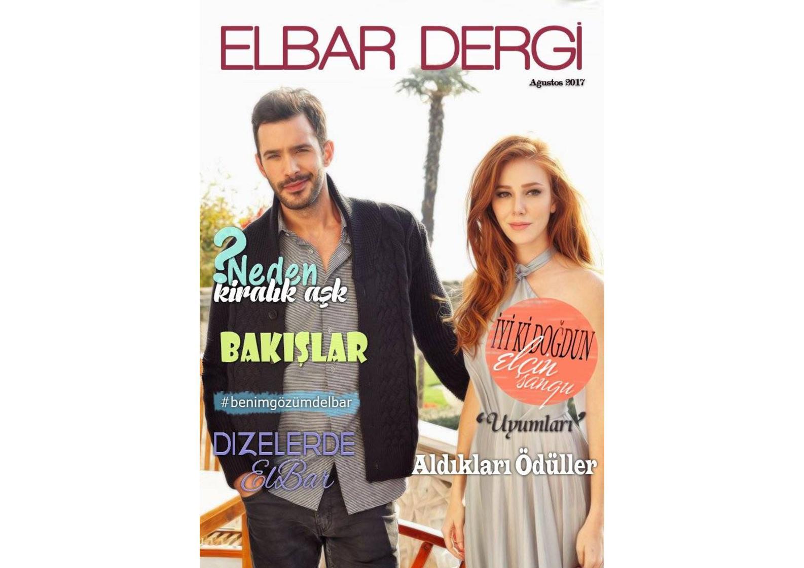 Elbar Dergi̇ Ağustos 2017