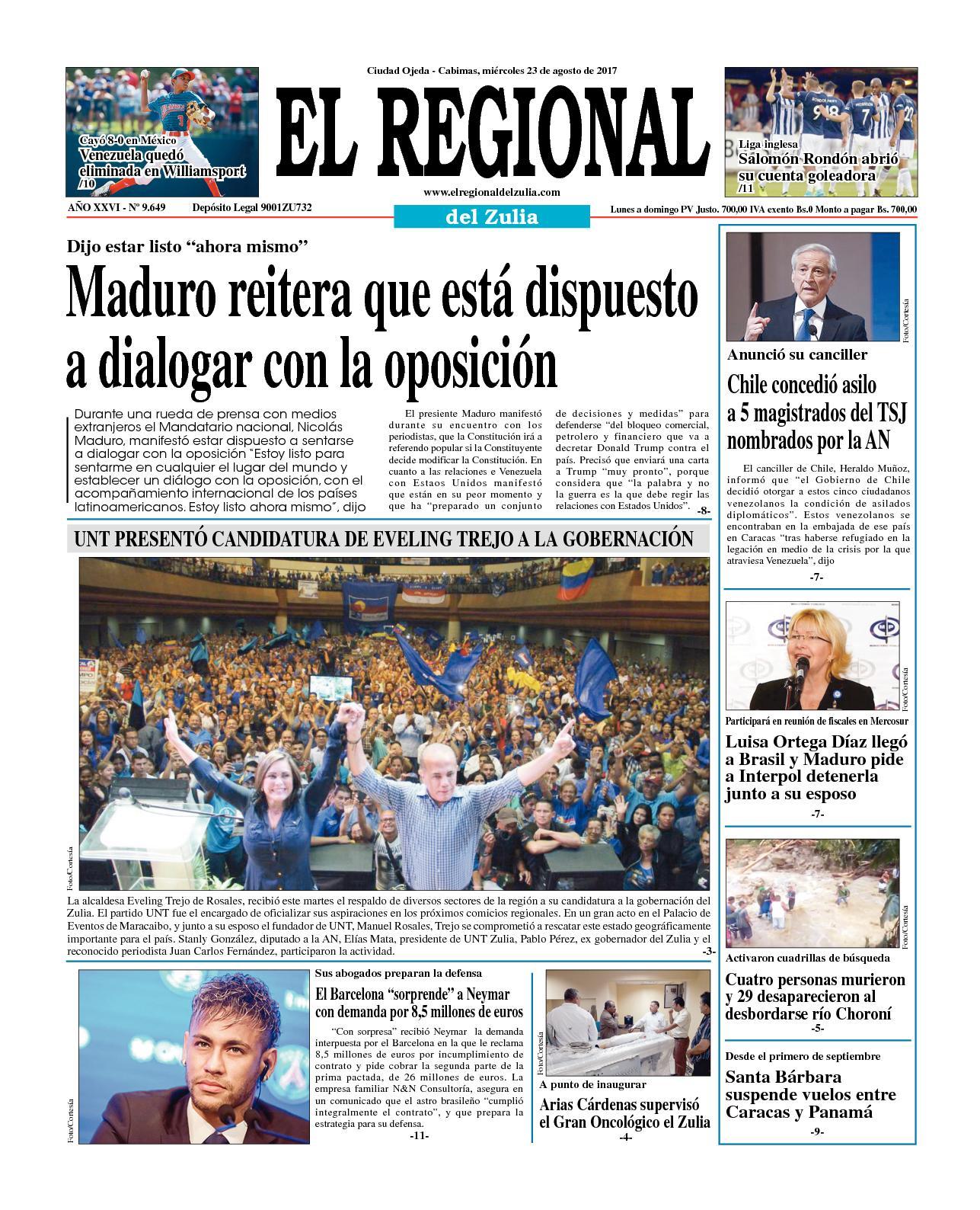 El Regional del Zulia 23-08-2017