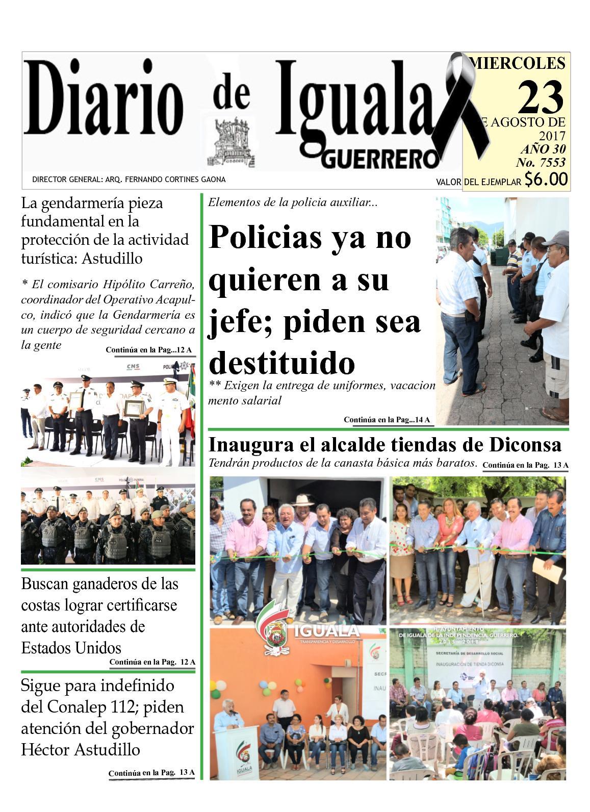 Diario De Iguala Miercoles 23 De Agosto De 2017