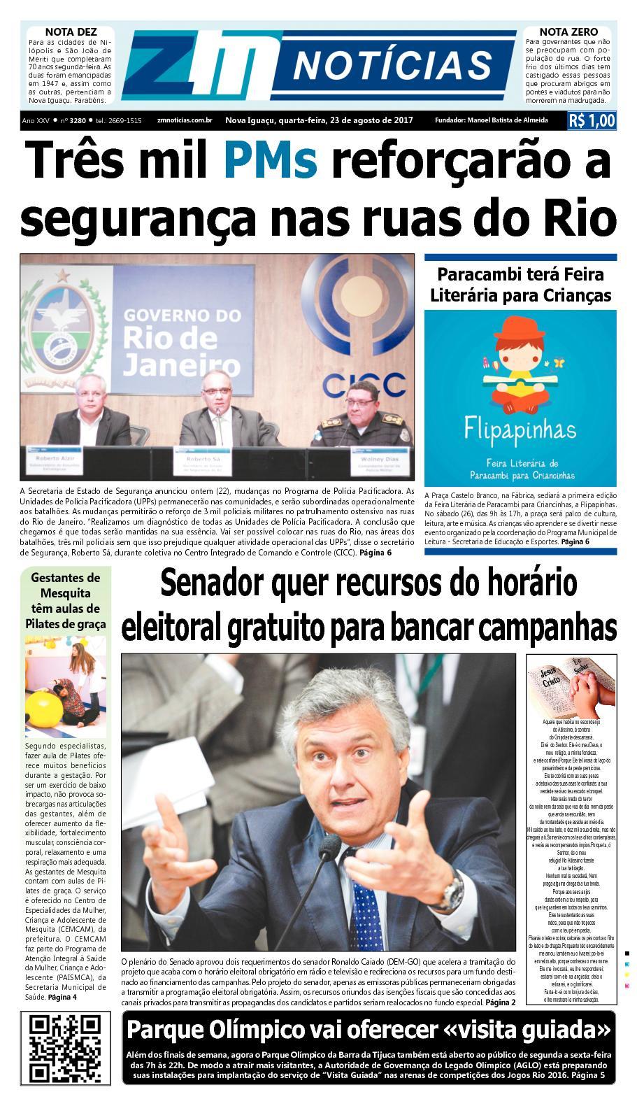 ZM Noticias - Edição 230817