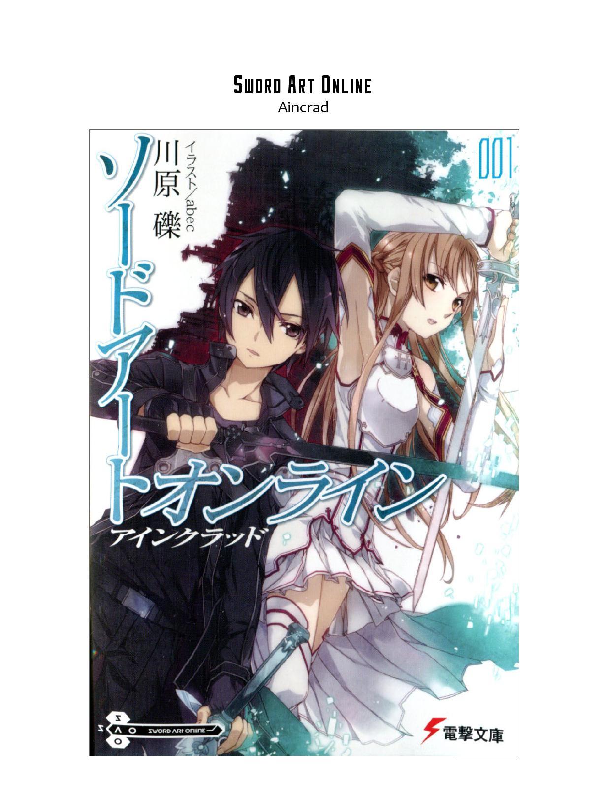 Calaméo - #Sword Art Online 1 Aincrad