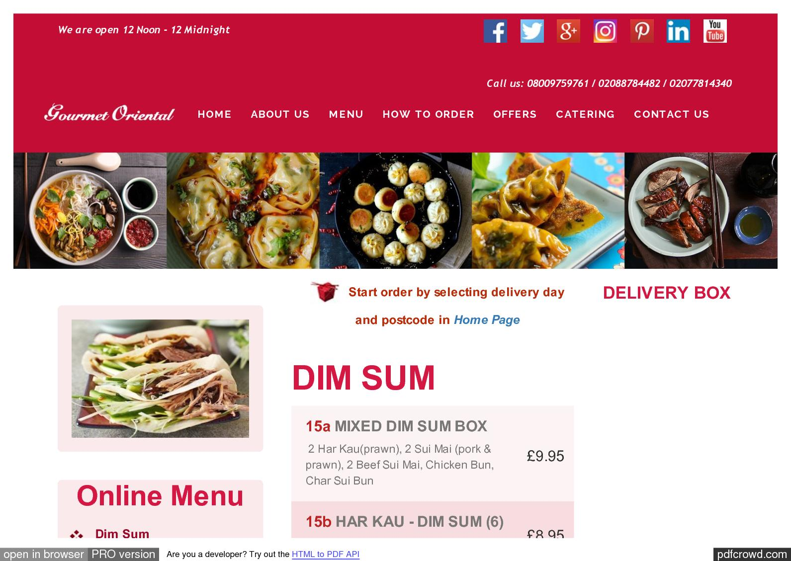 Calamo dim sum online menu gourmet oriental london pdf forumfinder Image collections