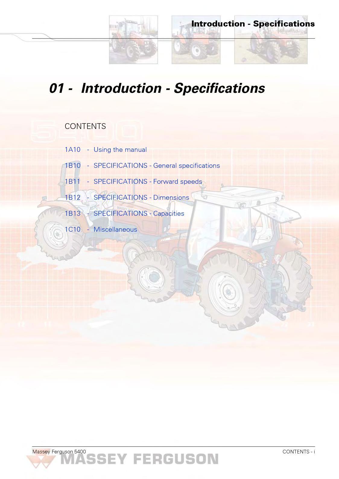 Massey Ferguson 5445 Wiring Diagram Modern Design Of To 30 Calam O Mf Tractor Service Repair Manual Rh Calameo Com