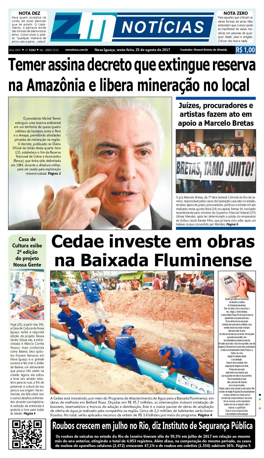 ZM Noticias - Edição 250817
