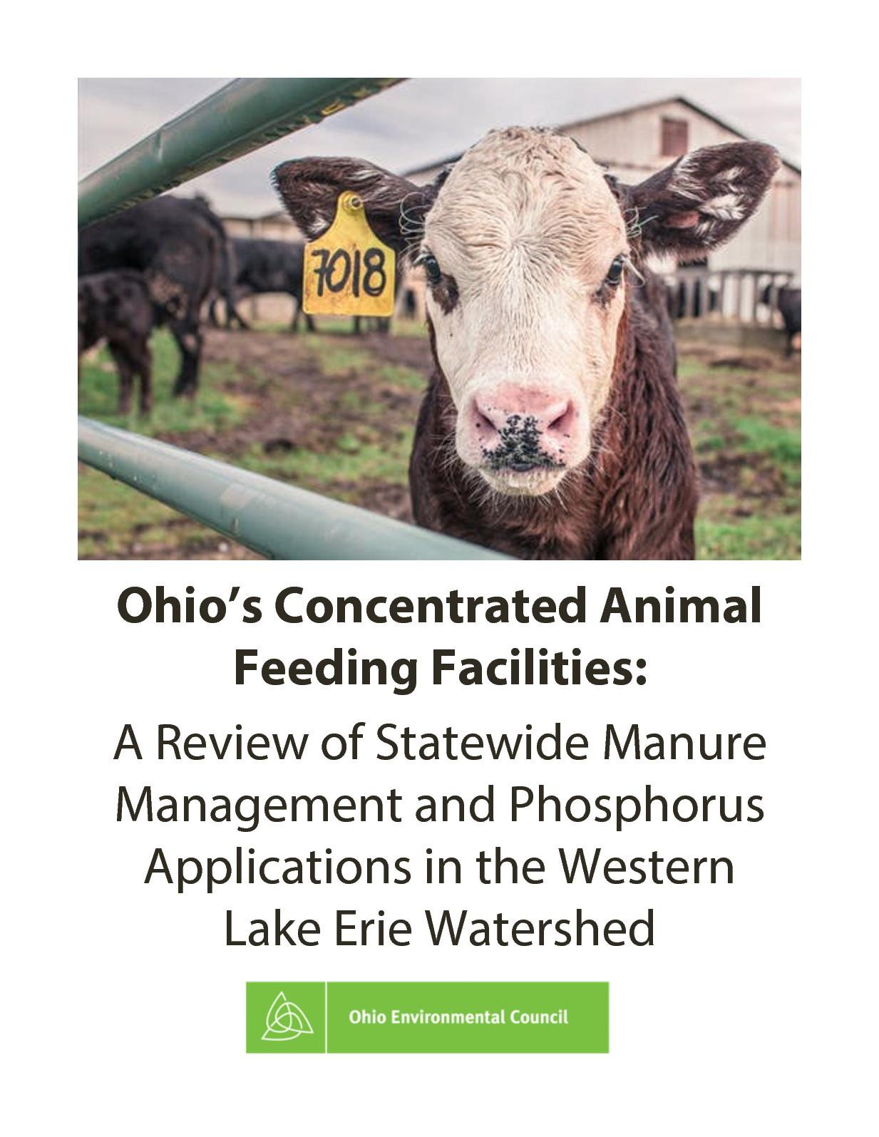 Ohio's Concentrated Animal Feeding Facilities