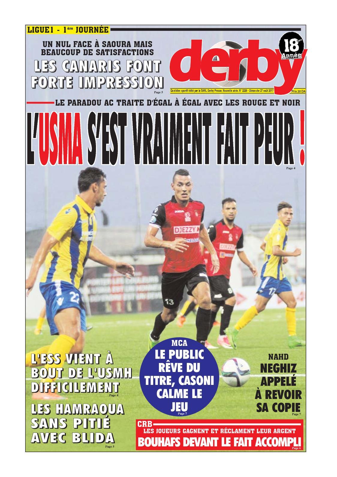 derby du 27.08.2017