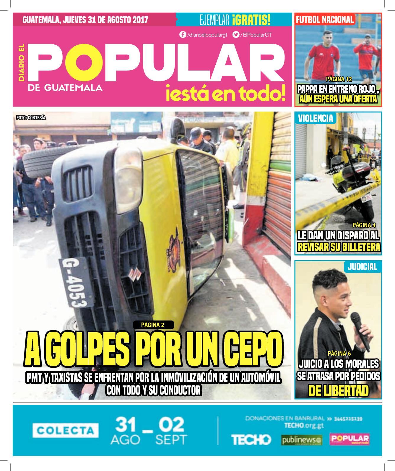 EL POPULAR GUATEMALA 31082017
