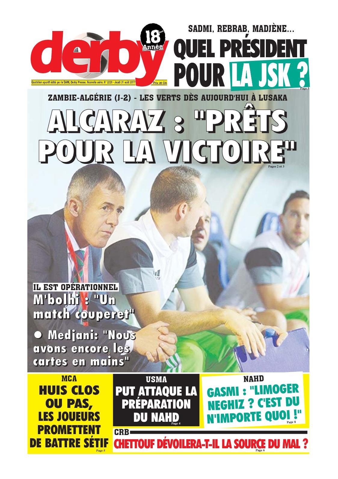 derby du 31.08.2017