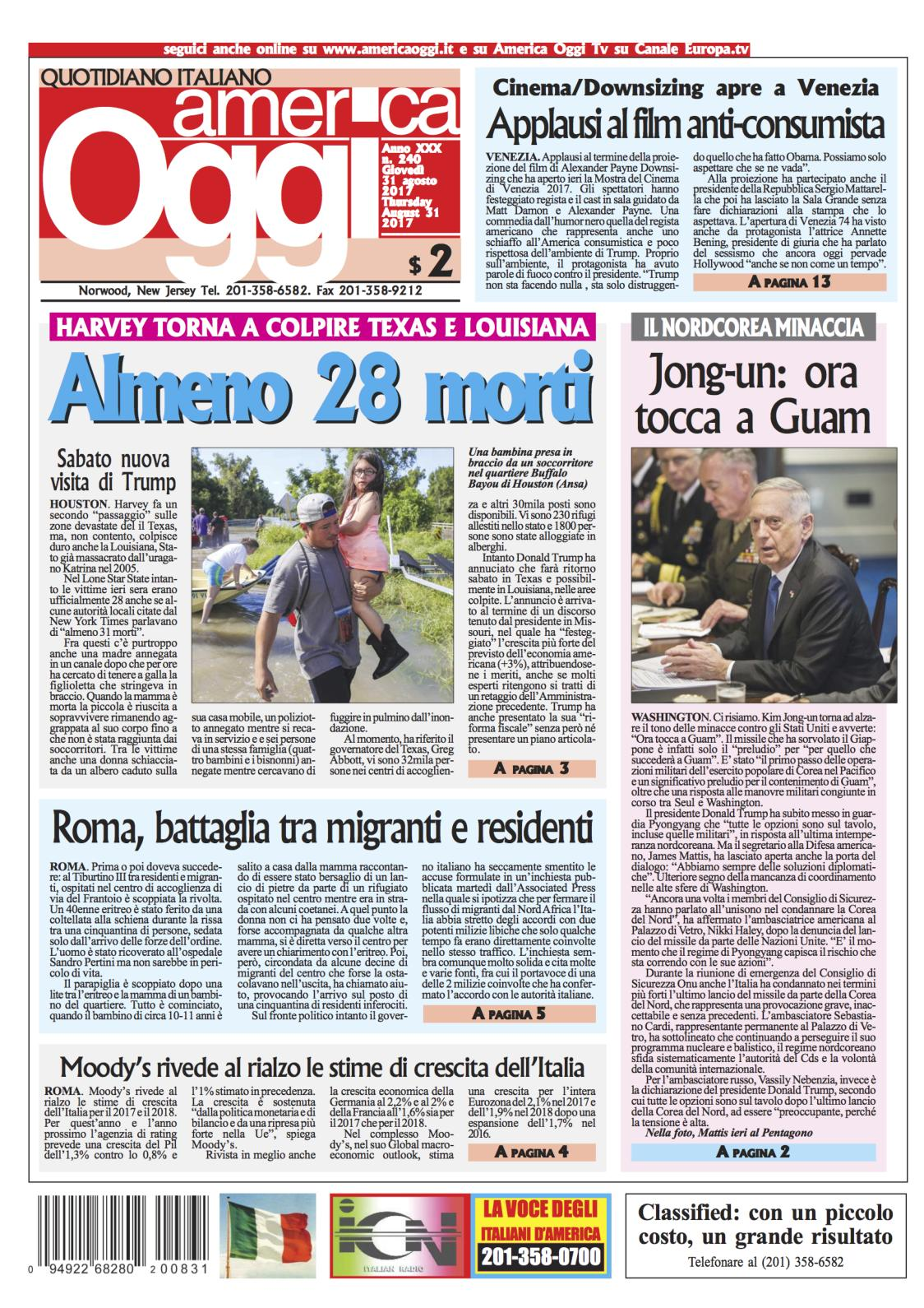 Calaméo - America Oggi 31 Agosto 2017 ffc00d284ab4
