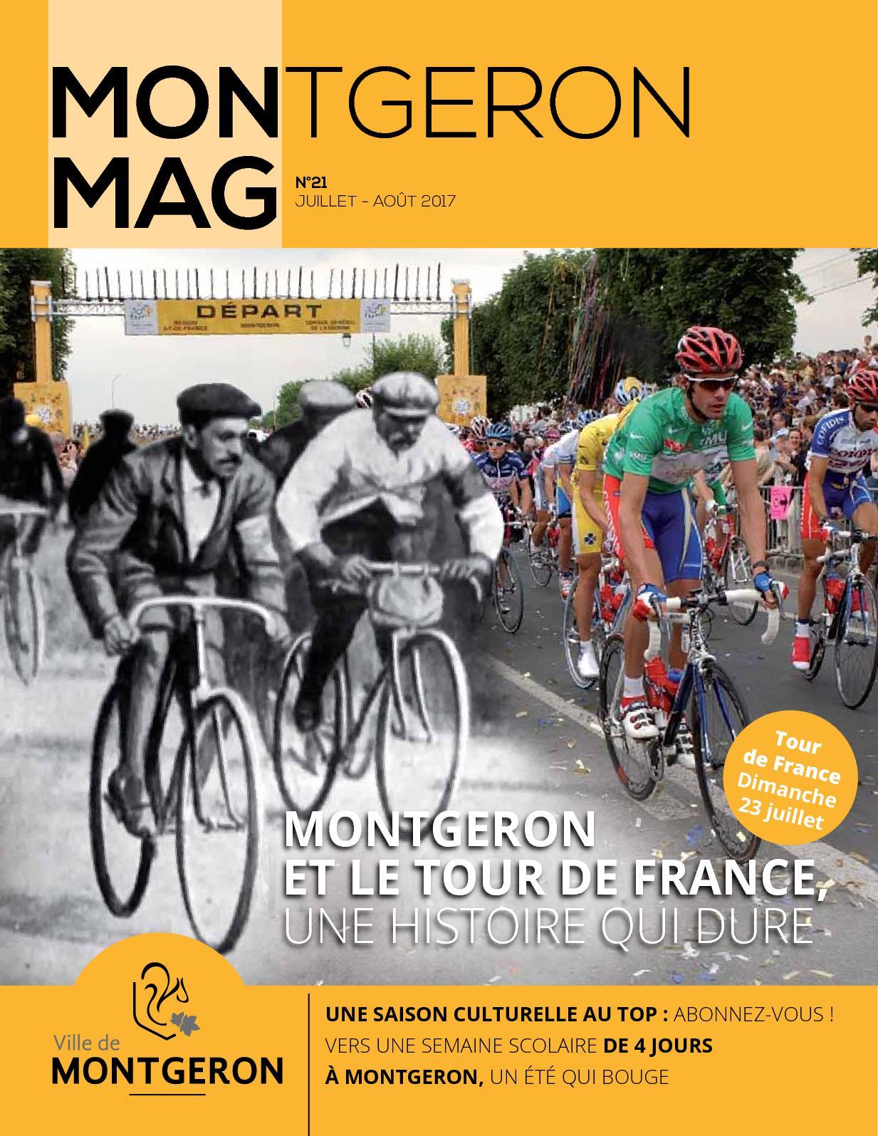 Calam o mon mag n 21 juillet aout 2017 for Piscine montgeron