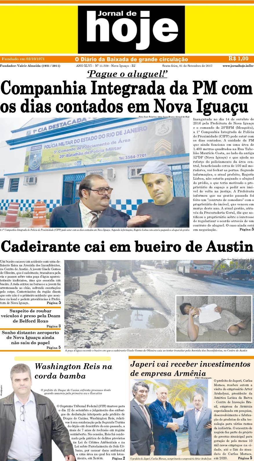 Jornal De Hoje 010917
