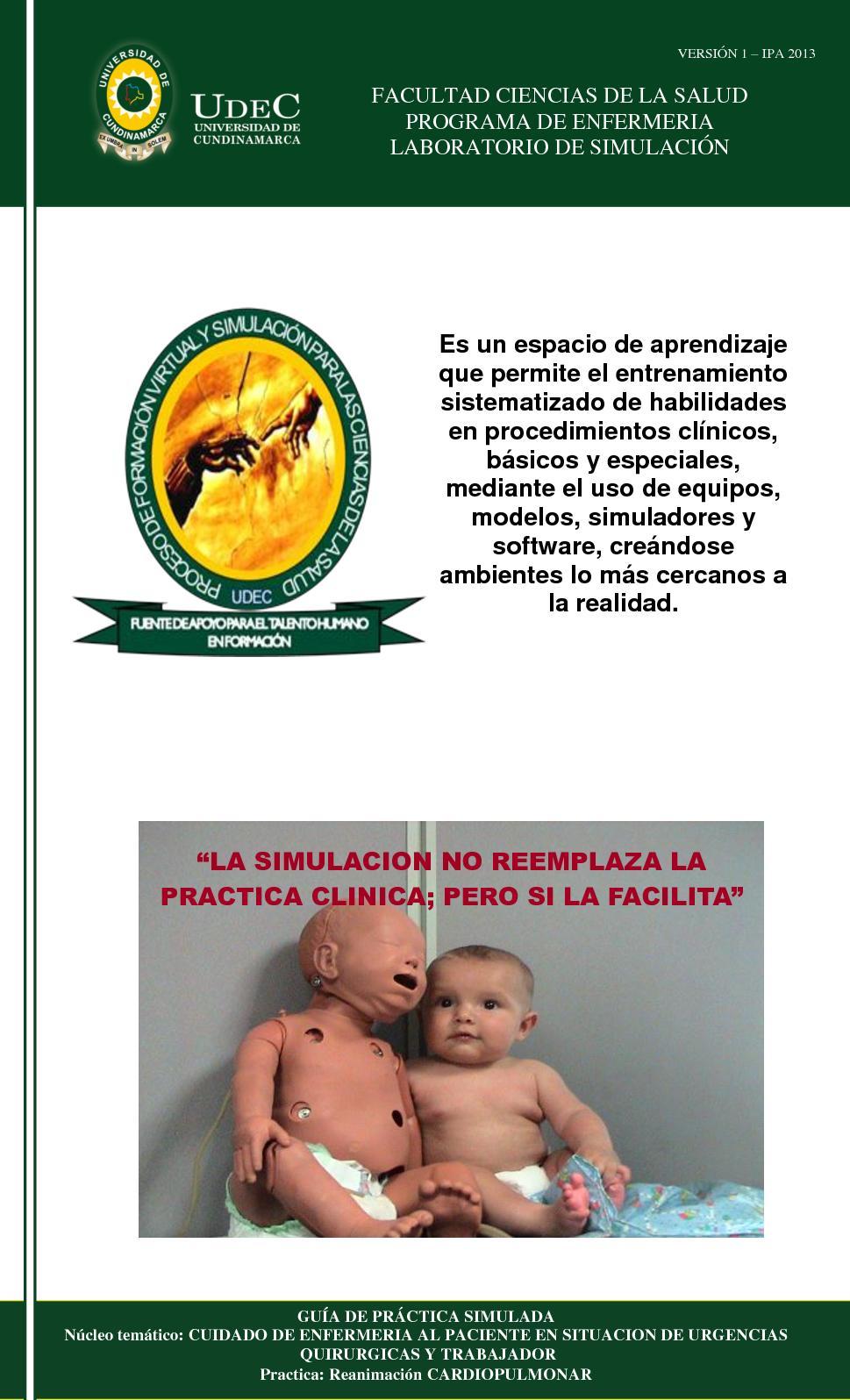 Calaméo - Guia Practica Reanimacion Cardiopulmonar
