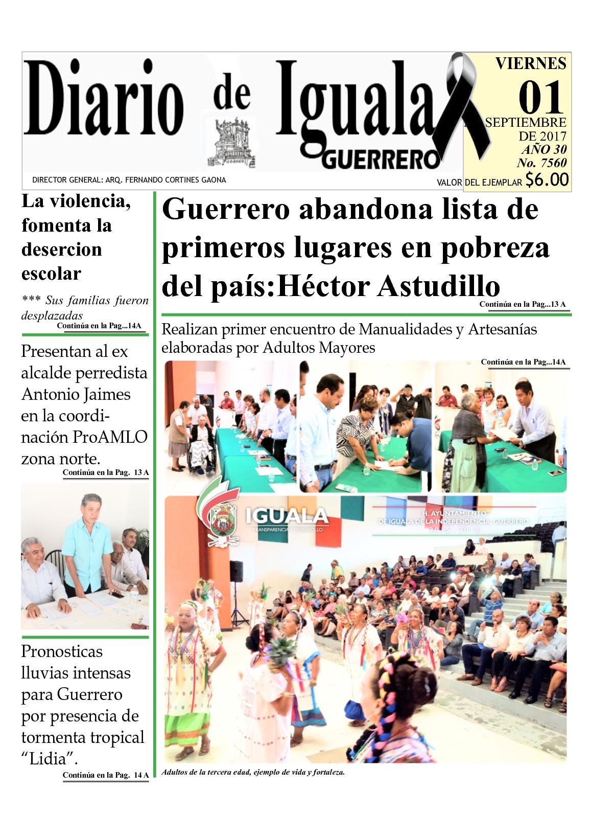 Diario De Iguala Viernes 01 De Septiembre De 2017