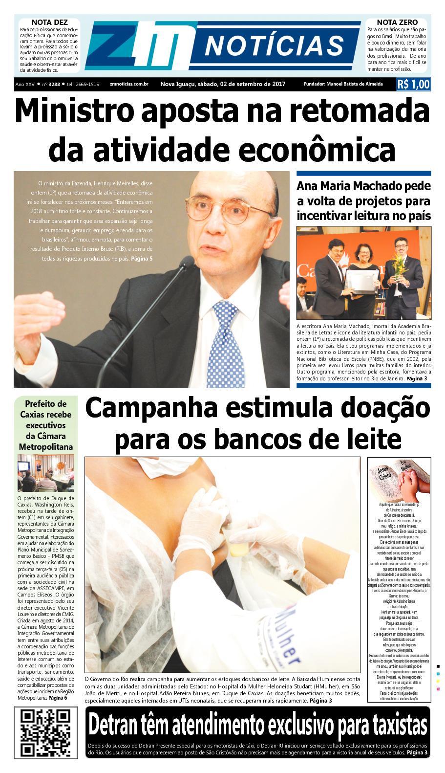 ZM Noticias - Edição 020917