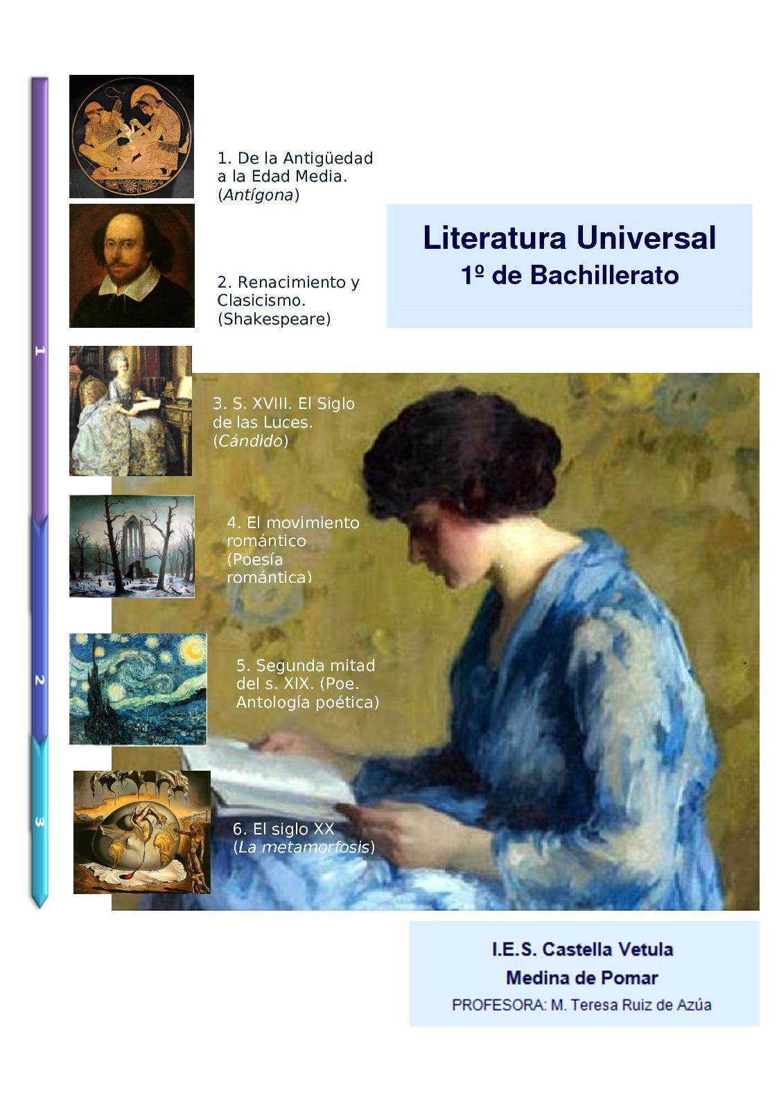 Literatura universal 2017-18