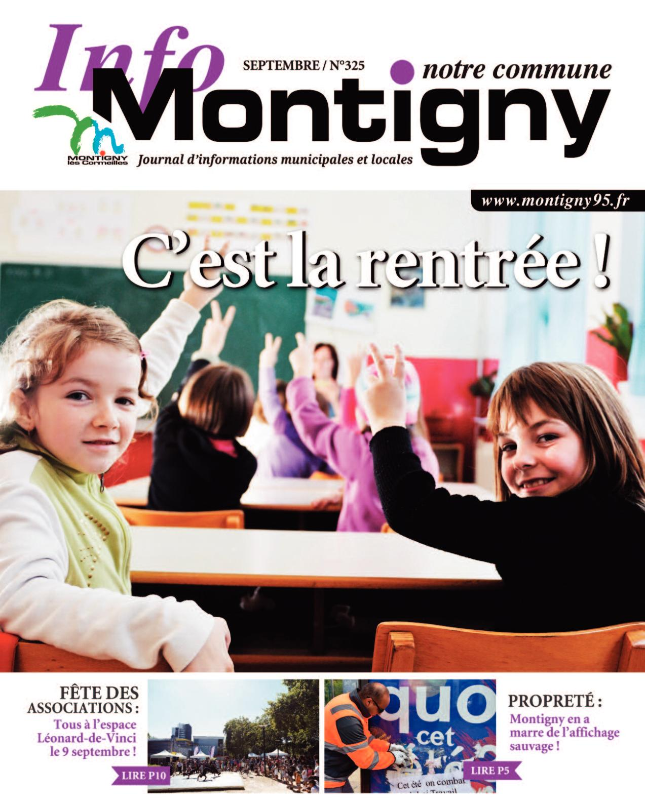 Calaméo - Montigny Notre Commune N° 325 Sept 17